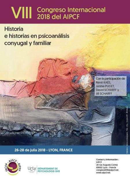 VIII CONGRESO DE LA ASOCIACIÓN INTERNACIONAL DE PSICOANÁLISIS DE PAREJA Y FAMILIA